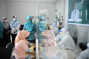 Meriahkan Hari Ibu, PKK Aceh Gelar Rapid Test Gratis untuk Perempuan