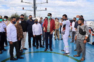 Gubernur Aceh Optimis Januari 2021 KMP Aceh Layani Penumpang