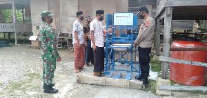 Kunjungi Ponpes, TNI/Polri Bersinergi Edukasi Santri Penerapan Protokol Kesehatan