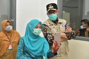 Gubernur Aceh Beri Semangat untuk Pasien COVID-19