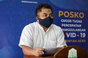 Sejuta Siswa Pakai Masker Serentak di Aceh