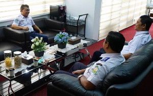 Dinas Perhubungan Aceh Gelar FGD Survei Kepuasan Pengguna Jasa Terminal Tipe B