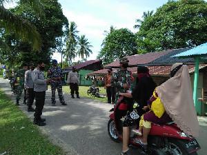 TNI dan Polri Bekerja Sama Galakkan Program 3M kepada Masyarakat Simeulue