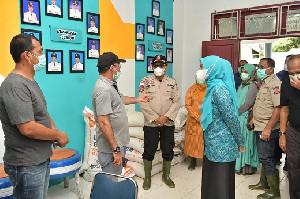Ketua PKK Aceh: Tinjau Banjir di Aceh Utara, Ingatkan Pentingnya Evakuasi Warga