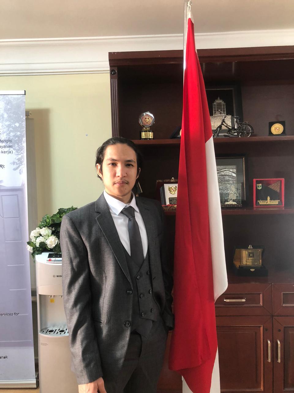 Misbahul Munawar Terpilih Ketua PPPI Azerbaijan Periode 2020-2021.