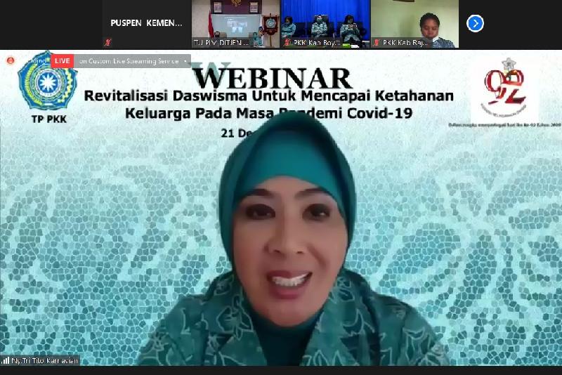 Revitalisasi Dasawisma untuk Mencapai Ketahanan Keluarga di Masa Pandemi Covid-19