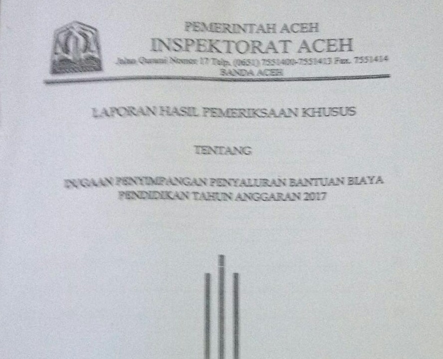 Dugaan Korupsi Beasiswa,  Polda Aceh Akan Minta Keterangan Anggota DPRA