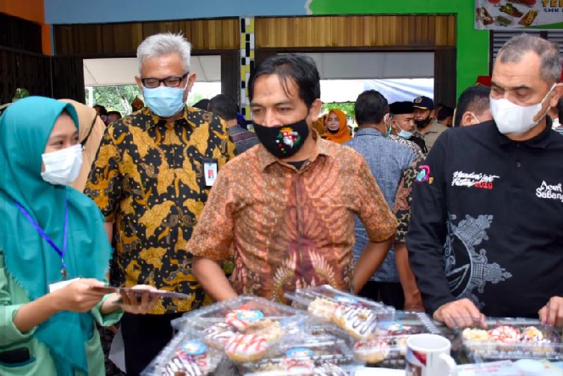 Tanamkan Jiwa Wirausaha, SMKN 1 Sabang Gelar Expo Produk Kreatif
