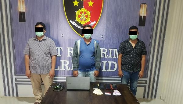 Polisi Berhasil Tangkap Pelaku Judi Online di Pidie