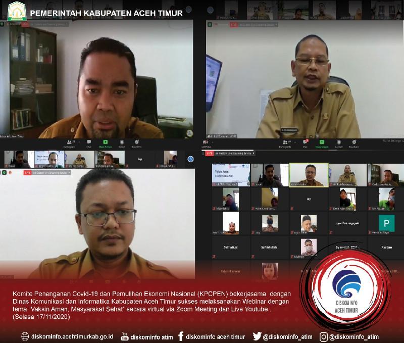 Kepala Diskominfo Aceh Timur : Pentingnya Literasi Media Untuk Masyarakat Di Masa Pandemi