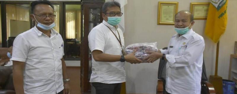 Tamiang Terima 10 Ribu Masker dari Kementerian Kesehatan