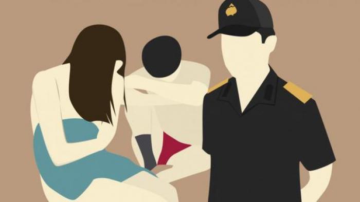 Sepasang kekasih di Simeulue, Diduga Berbuat Mesum Diamankan Polisi