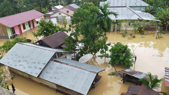 Dampak Banjir Aceh Timur, Masih Bertahan 2.066 Jiwa di Pengungsian