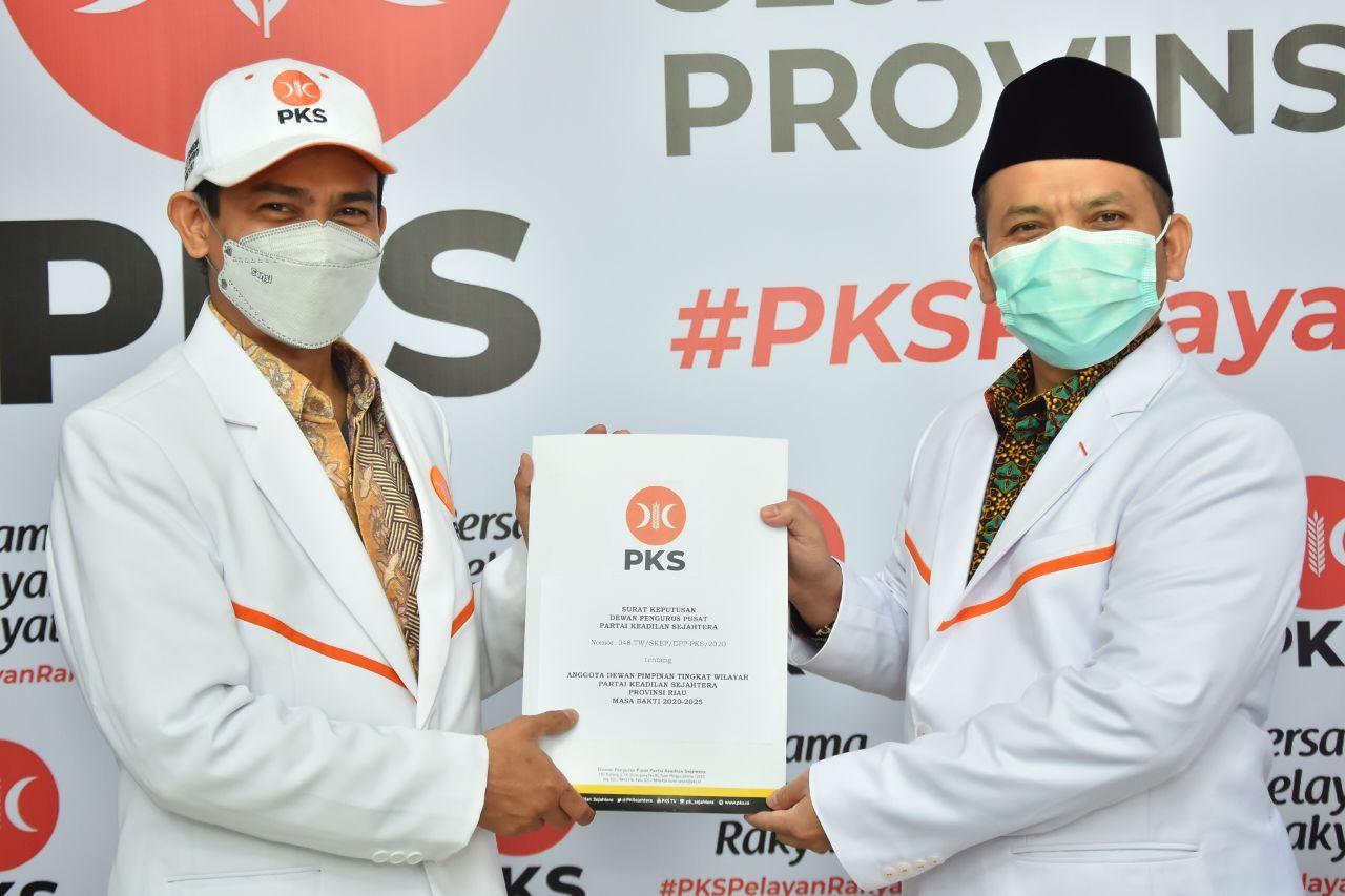 Ahmad Tarmizi Pimpin DPW PKS Riau Periode 2020-2025
