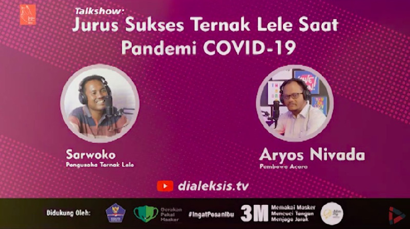 Talkshow: Jurus Sukses Ternak Lele Saat Pandemik COVID-19
