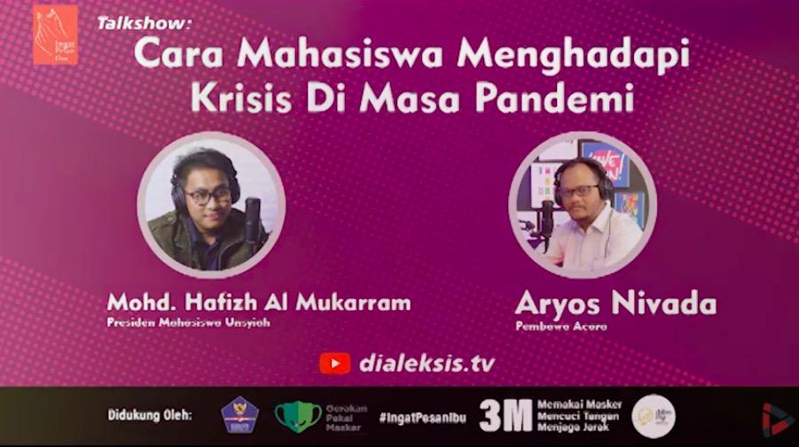 Talkshow: Cara Mahasiswa Menghadapi Krisis di Masa Pandemi