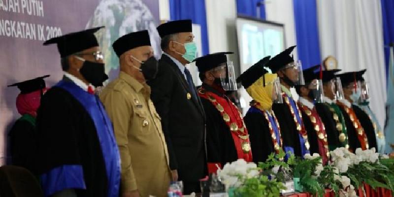 Hadiri Wisuda Universitas Gajah Putih, Ini Pesan Gubernur Aceh