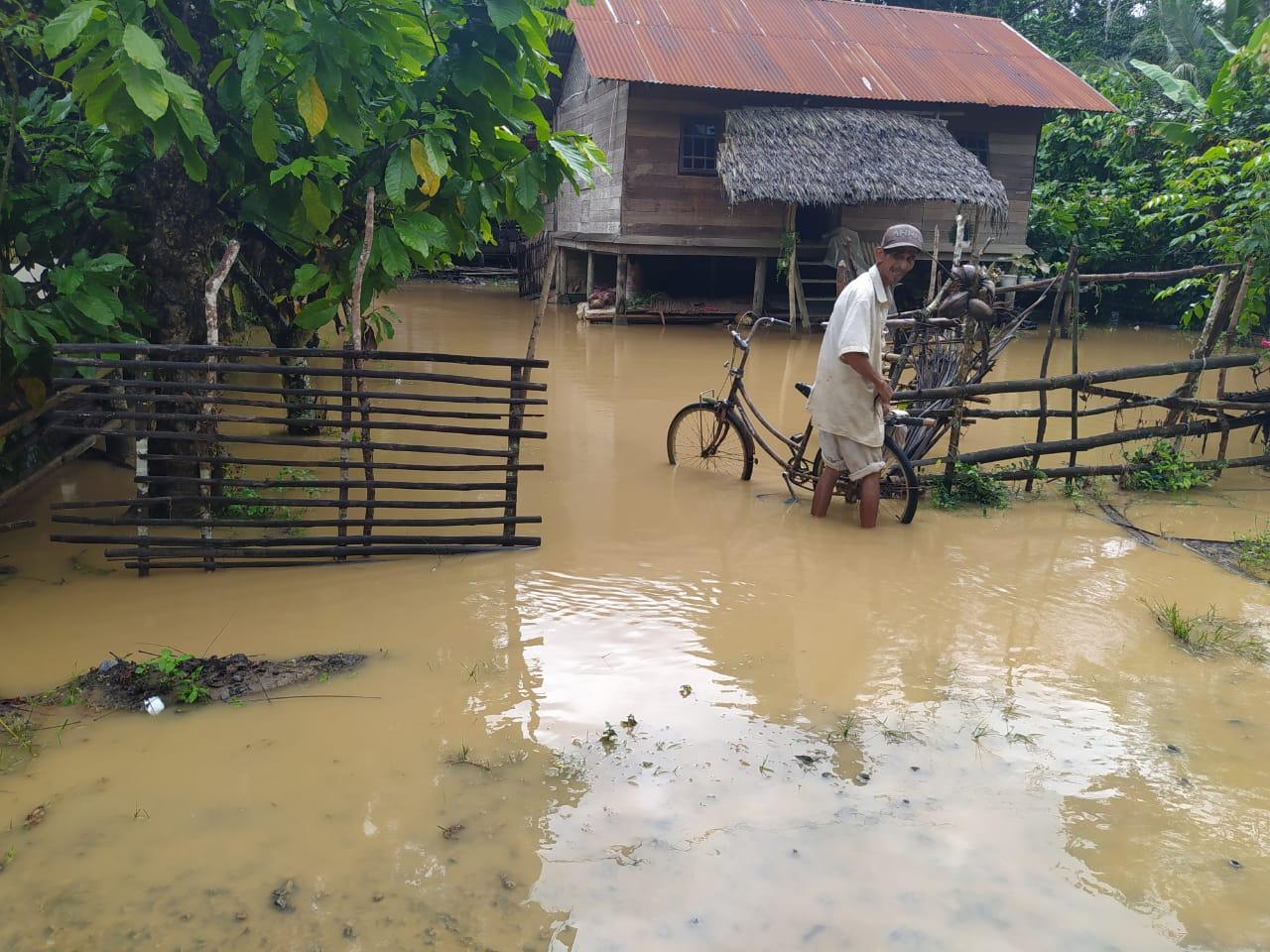 Banjir Kembali Genangi Wilayah Aceh Utara