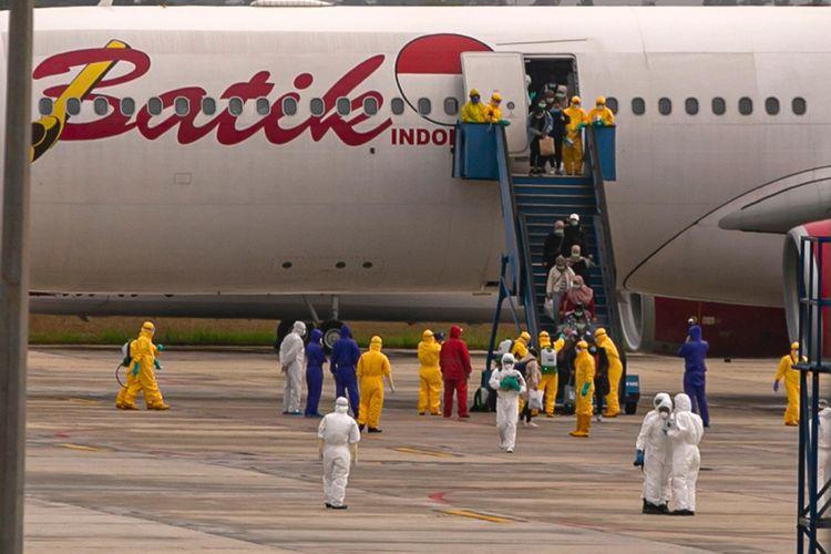 153 Warga Cina yang Baru Tiba di Bandara Soekarno-Hatta Dikarantina