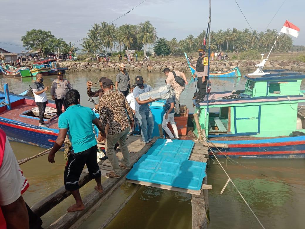 Boat Tak Bertuan di Pandrah Berisi 300 Paket Sabu