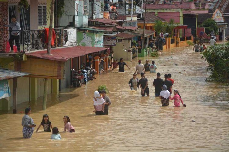 Ribuan Warga di Aceh Tamiang Terdampak Banjir