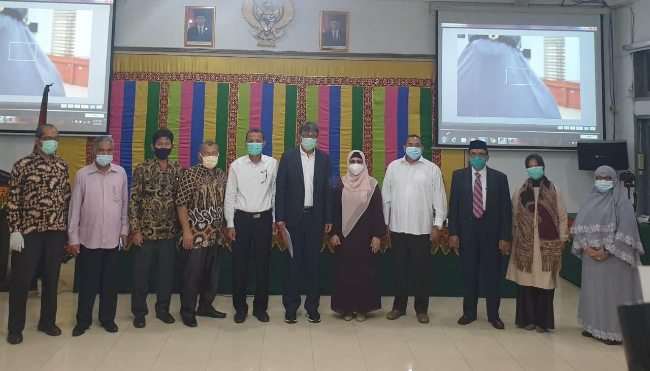 Dr Muhammad Gaussyah Jadi Dekan Fakultas Hukum USK Periode 2021-2025