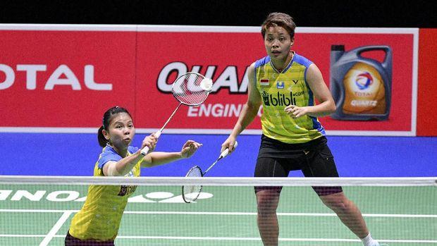 Tim Indonesia Greysia/Apriyani Masuk Final Yonex Thailand Open 2021