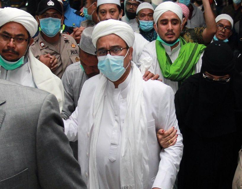 Jadi Tersangka Kasus Kerumunan, Praperadilan Rizieq Shihab Diputus Hari Ini