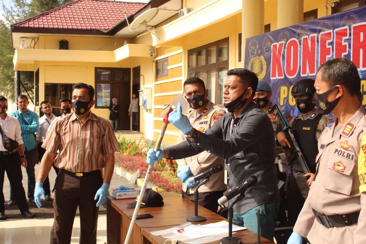 Kasus Perawat Putus Tangan,  Pisau Mesin Rumput Dibawa ke Medan