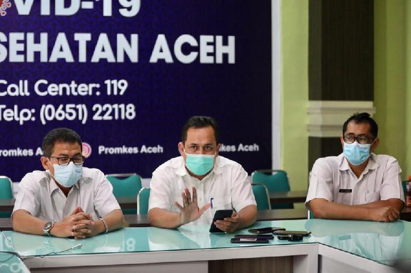 15 Januari 2021, Gubernur Penerima Vaksin Covid-19 Perdana di Aceh