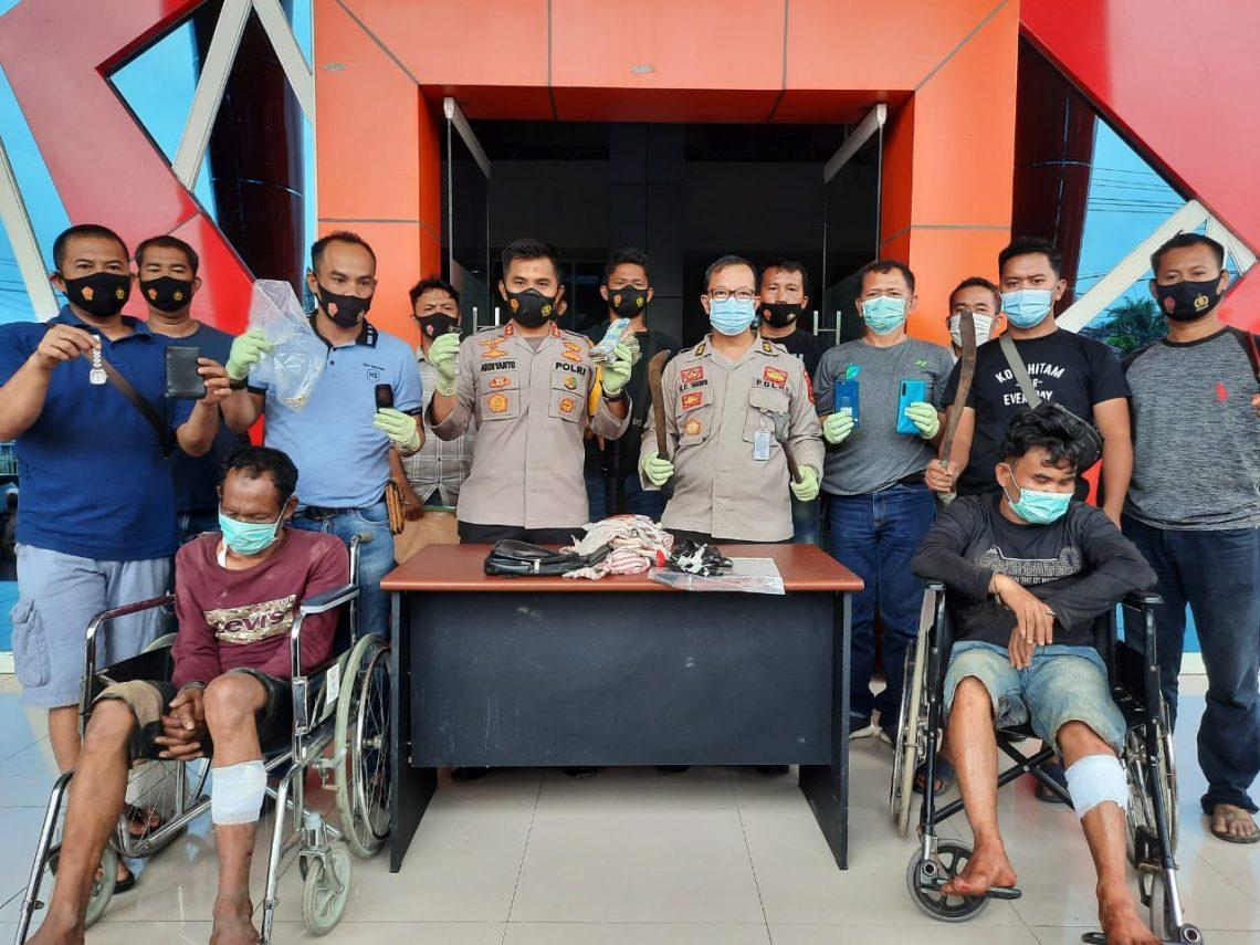 Miris, Dua Perampok Sadis dan Cabul Asal Aceh Ditangkap di Muaro Jambi