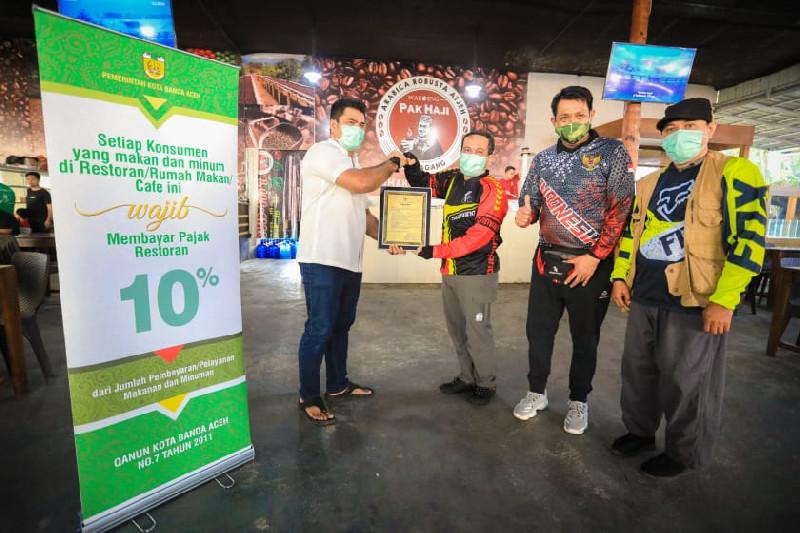 Gojak: Gowes Sosialisasi Pajak, Inovasi BPKK Banda Aceh