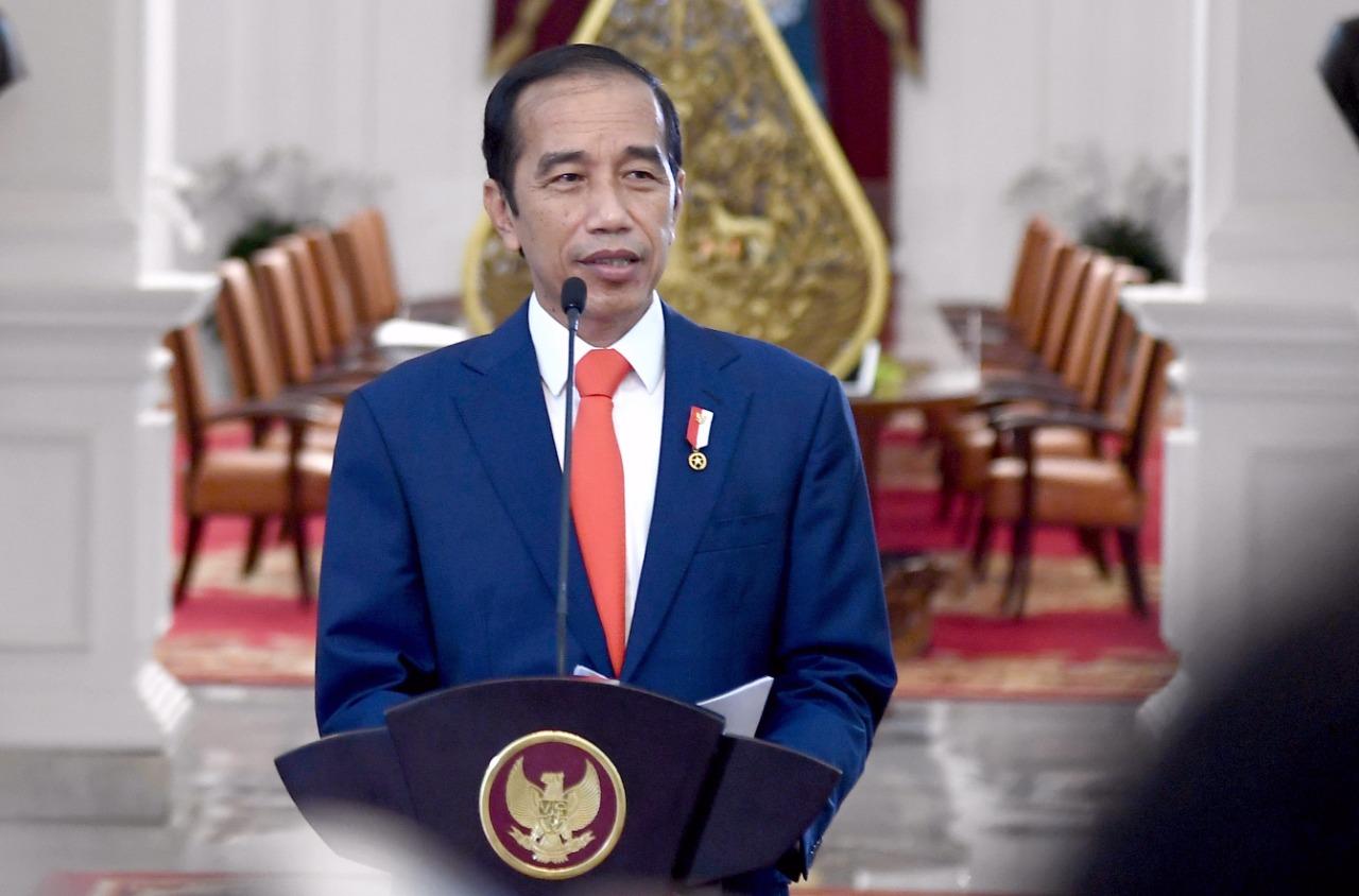Presiden Jokowi Teken Perpres Nomor 8 Tahun 2021 Tentang Pertahanan Negara