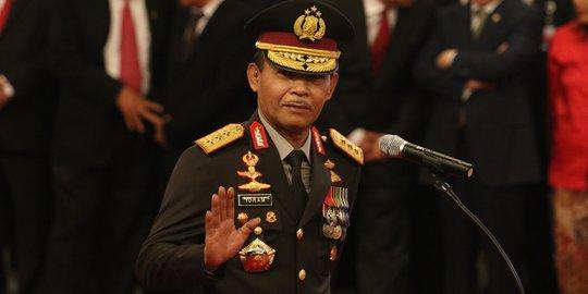 Per 1 Februari Purna Bakti, Idham Azis Serahkan Surat Pensiun ke Jokowi