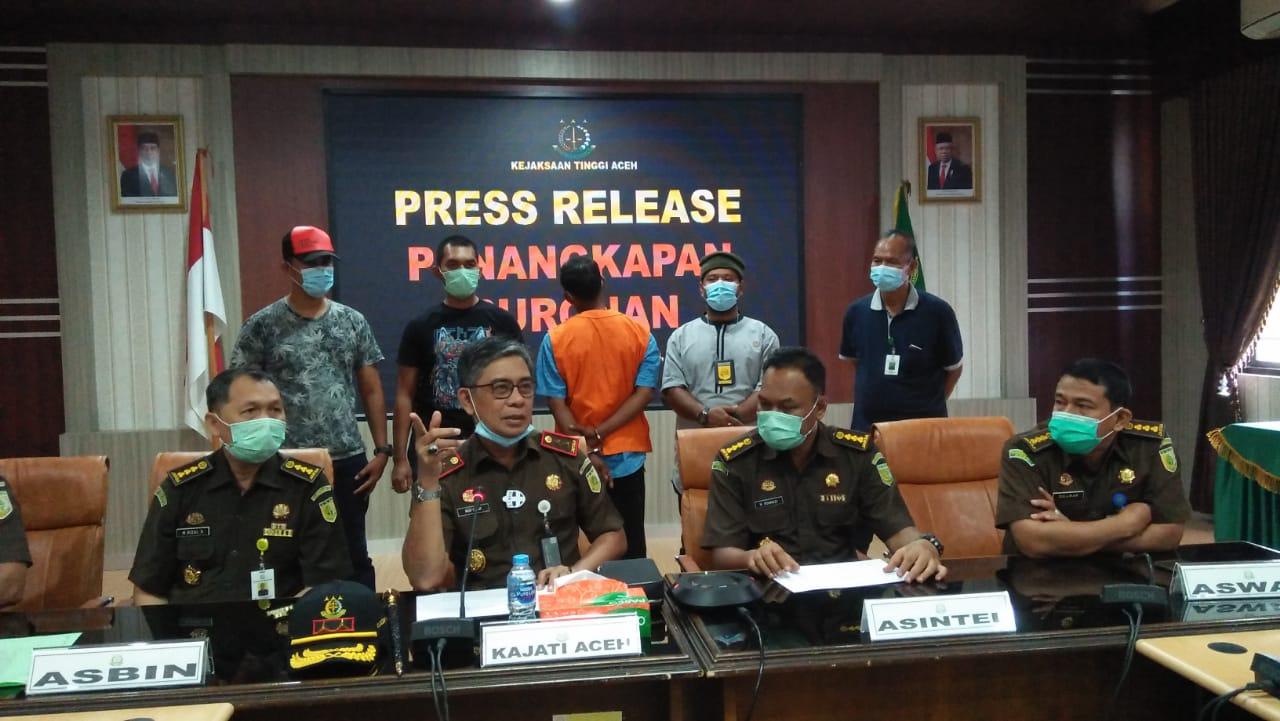 Tim Tabur Kejati Aceh Berhasil Tangkap Bos Sabu