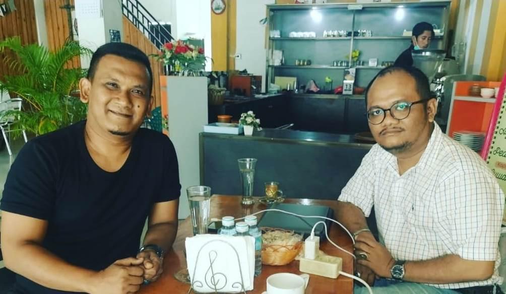 Ngopi Bareng Owner Dialeksis, Kasi Penkum Kejati Aceh: Kita Terbuka Terhadap Akses Informasi