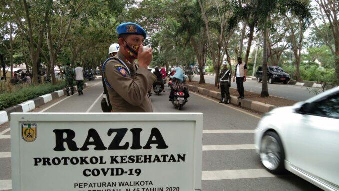 Satpol PP-WH Banda Aceh:  Razia Masker Beri Perubahan Sosial Terhadap Kepatuhan Prokes