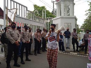 Aliansi Pemuda Peduli Aceh Demo Soal Dana Hibah, Ini Tuntutannya
