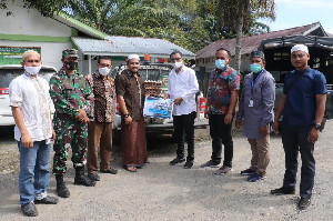 PT Mifa Bersaudara dan Pemerintah Aceh Salurkan Bantuan Korban Kebakaran Dayah Serambi Mekkah