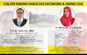 Calon Dekan Fakultas Ekonomi & Bisnis USK