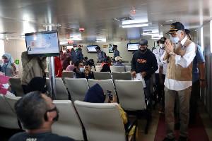 Gubernur Lepas Pelayaran Perdana KMP Aceh Hebat 2 Rute Ulee Lheue - Sabang