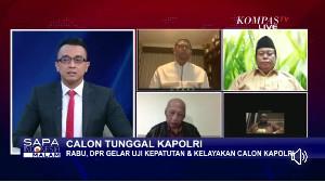Nasir Djamil Harap Calon Tunggal Kapolri Tuntaskan Kasus Penembakan 6 Anggota FPI