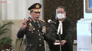 Sah! Listyo Sigit Prabowo Dilantik Resmi Jadi Kapolri