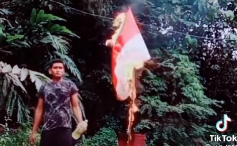 KBRI Laporkan Pelaku Pembakaran Bendera Merah Putih ke Polisi Diraja Malaysia