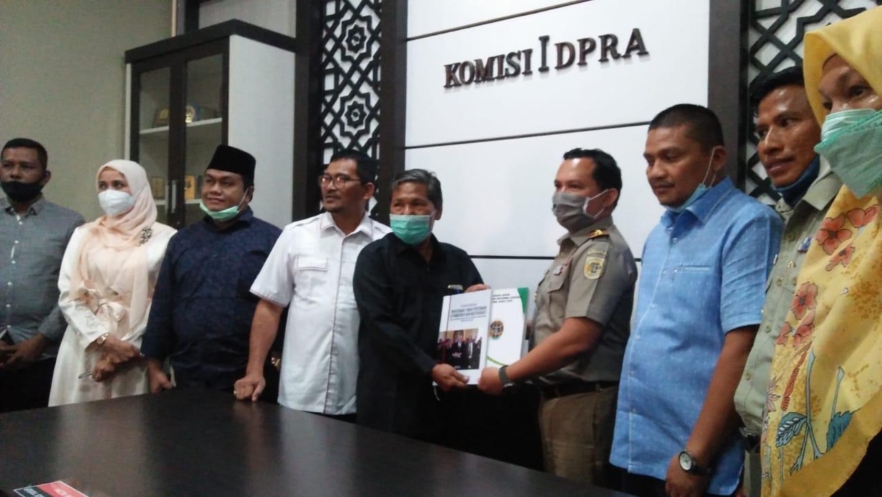 DPRA Minta Pengelolaan Tanah Aceh Diserahkan ke Pemerintah Daerah