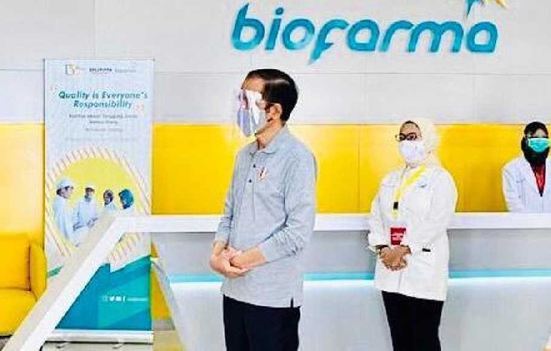 4 Juta Dosis Vaksin Corona, Bio Farma Siap Distribusikan mulai Februari