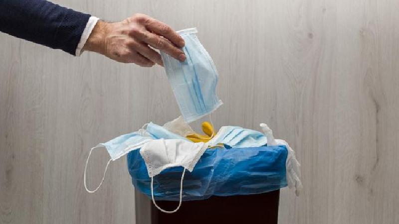 1.538 Kilogram Sampah Masker Bekas di DKI