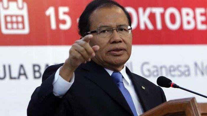 MK Tolak Gugatan Ambang Batas Presiden, Rizal Ramli Protes