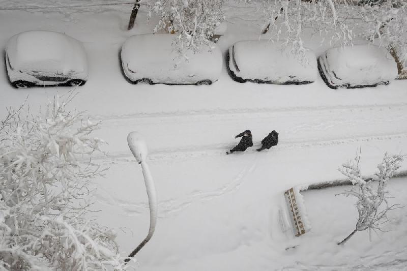 Badai Salju Ekstrem di Spanyol, 4 Orang Meninggal