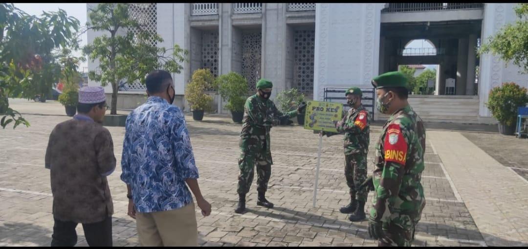 Komsos Serka Prana Sukam dan Himbauan Prokes Terhadap Warga